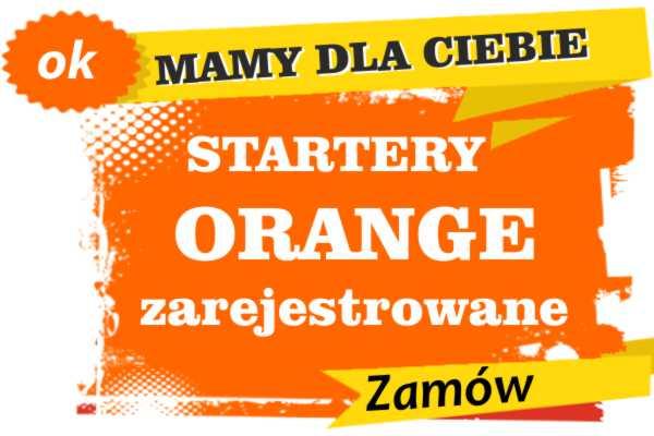 Sprzedam zarejestrowane karty sim orange Krynki  zadzwoń 887 332 665